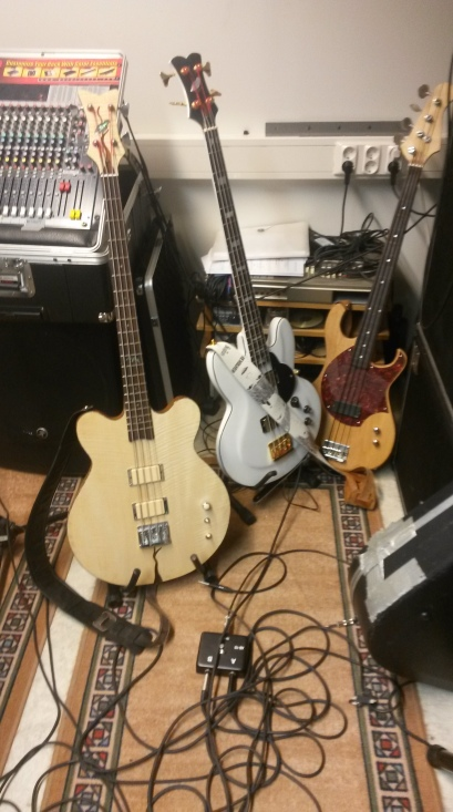 No longer use standard basses...